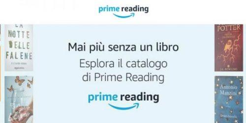 Amazon Prime Reading: ora i libri gratis per i clienti abbonati a Prime