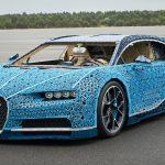 La Bugatti Lego può raggiungere i 30Km orari