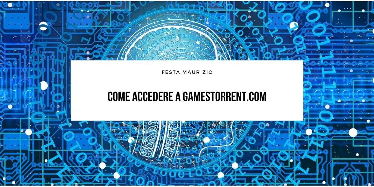 Come accedere a Gamestorrent.com