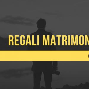 Regali Tecnologici per un matrimonio; ecco alcuni consigli